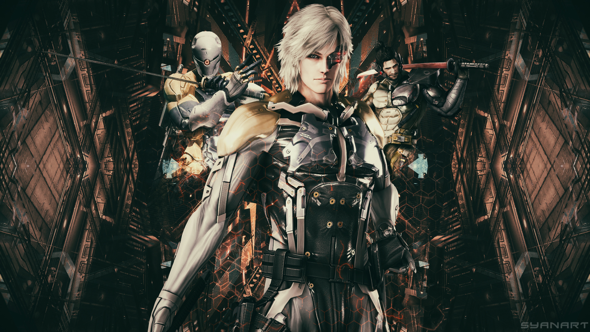 metal gear rising revengeance wallpaper | syanart exclusive gaming