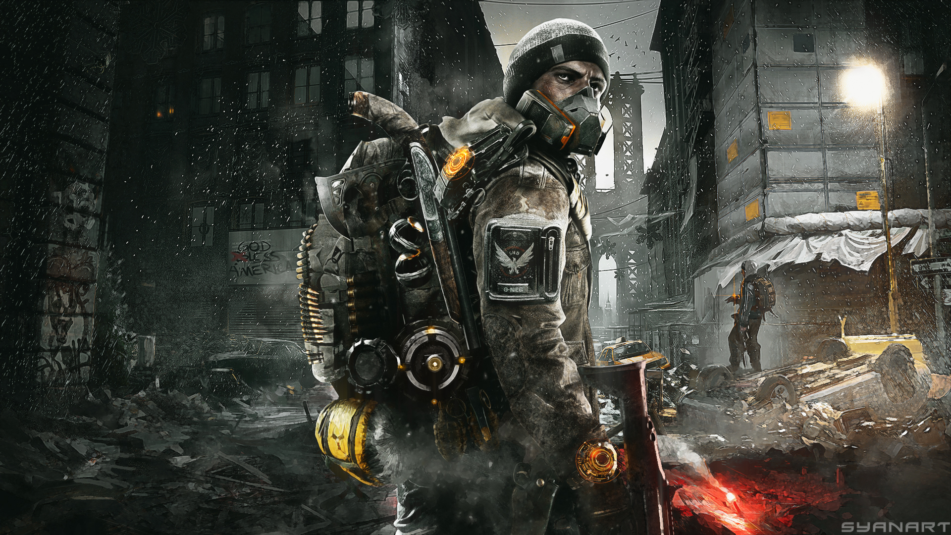 The Division – StreetMob Full HD Wallpaper « SyanArt