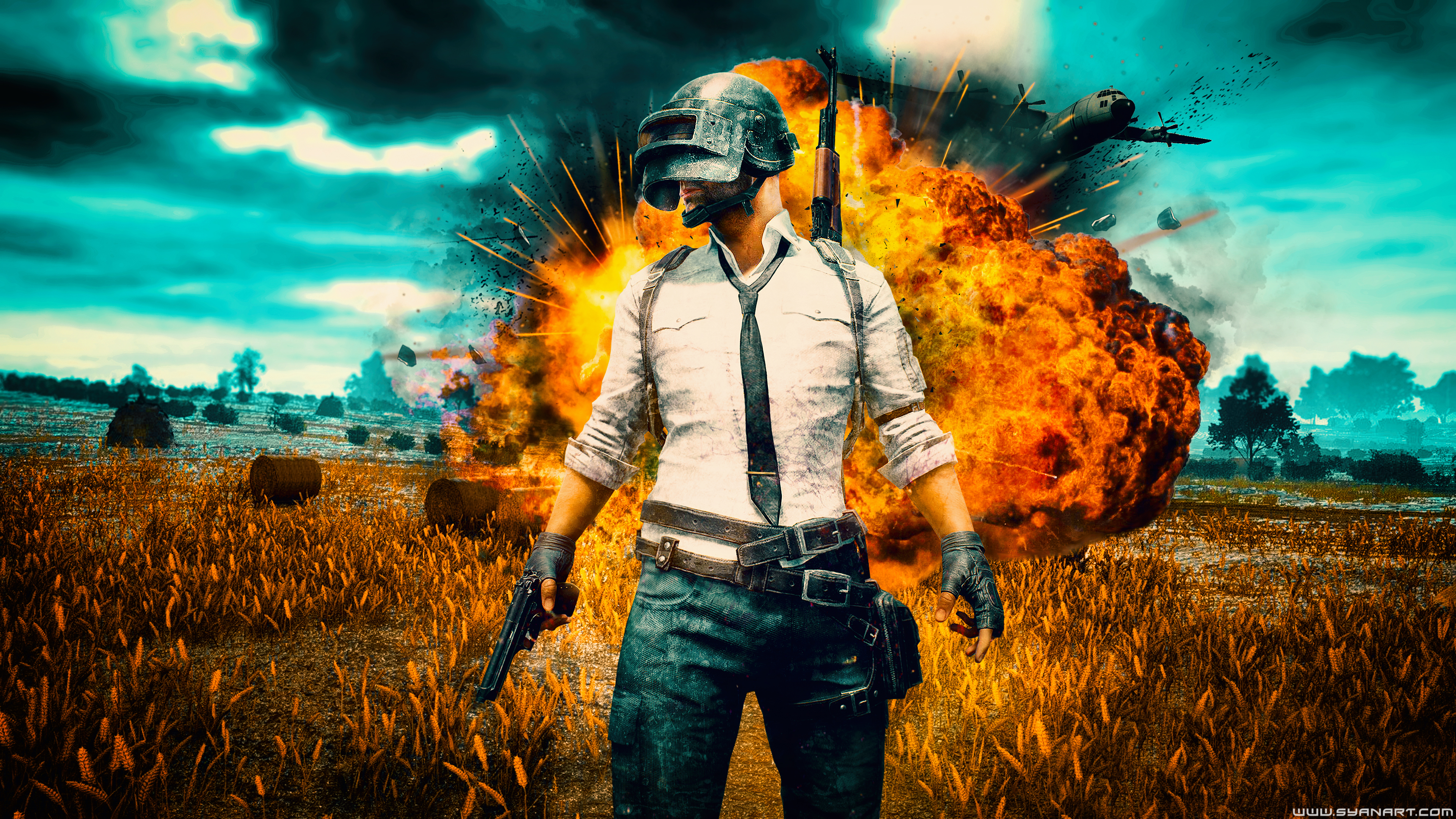 Wallpaper Pubg Keren 3d Topbackground