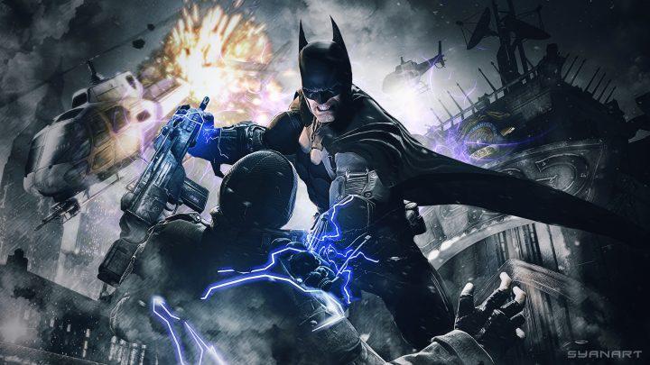 Batman Arkham Origins Electron Wallpaper