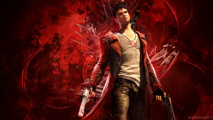 DmC Devil May Cry Red Orbs Wallpaper