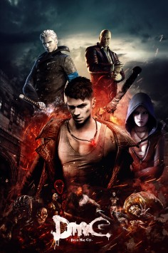 DmC Devil May Cry Ultimate poster