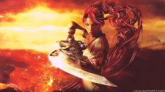 Heavenly Sword – Abstract Wallpaper