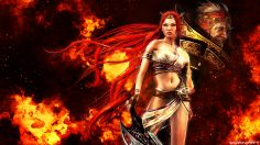Heavenly Sword Nariko Battlefield Wallpaper