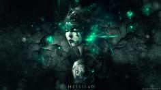 Hellblade Senua abstract Wallpaper