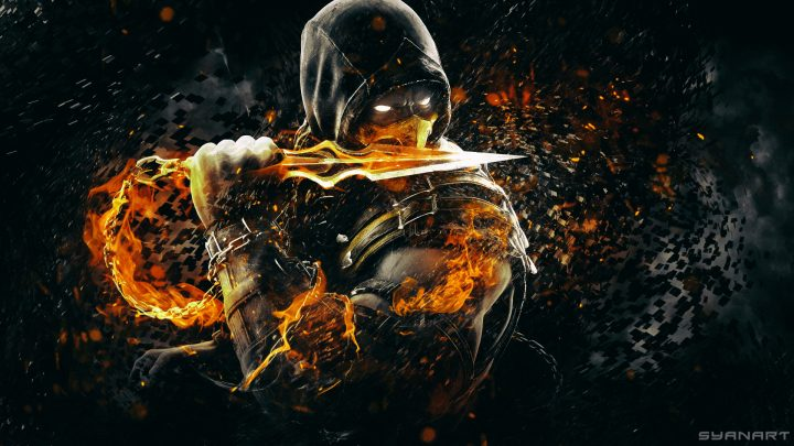 Mortal Kombat X Scorpion Wallpaper