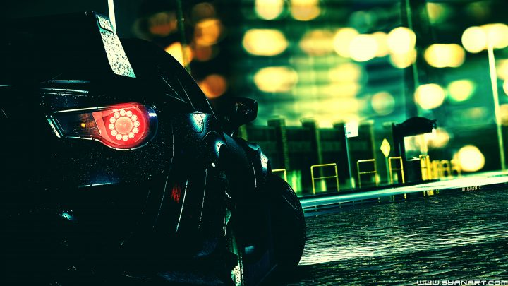 Need For Speed 2016 5K Desktop Background