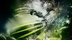 Ninja Gaiden Sigma 2 Green Claws Wallpaper