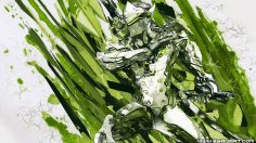 Overwatch – Genji Green Dragon ninja HD Wallpaper