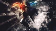 Infamous second son abstract wallpaper