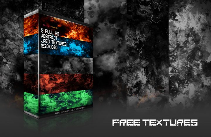 FullHD Abstract Texture Pack 1