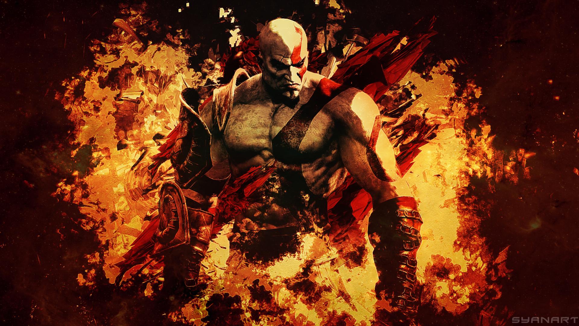 God Of War 3 Remastered Wallpaper Syanart Station
