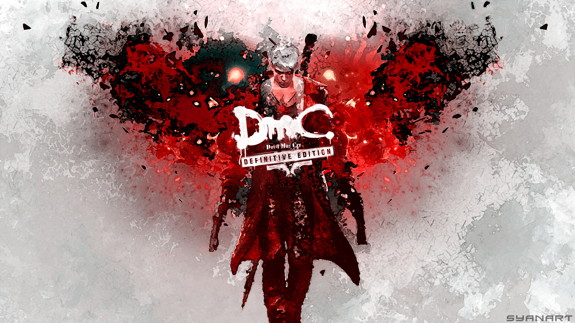 Dmc Devil May Cry Definitive Edition Wallpaper Syanart Station