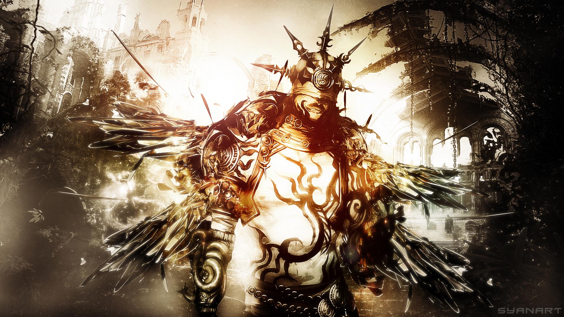 Guild Wars 2 Fullhd Godlike Wallpaper Syanart Station