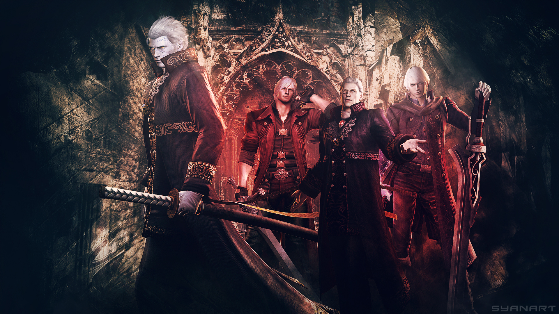Devil May Cry 4 Special Edition Wallpaper Syanart Station