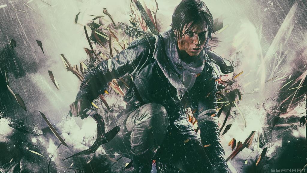 Rise of the Tomb Raider FullHD Wallpaper