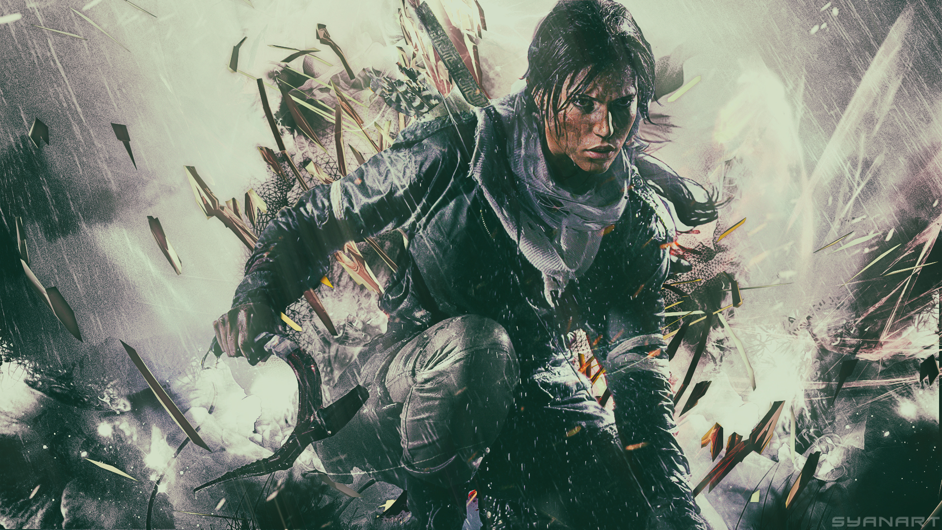 Hd Quality Rise Of The Tomb Raider Wallpaper Saffron Photography