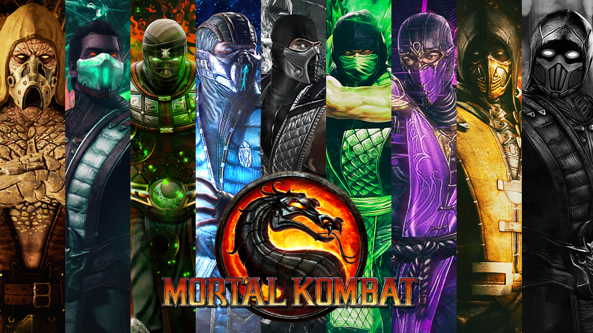 Mortal Kombat all Klassic Ninjas
