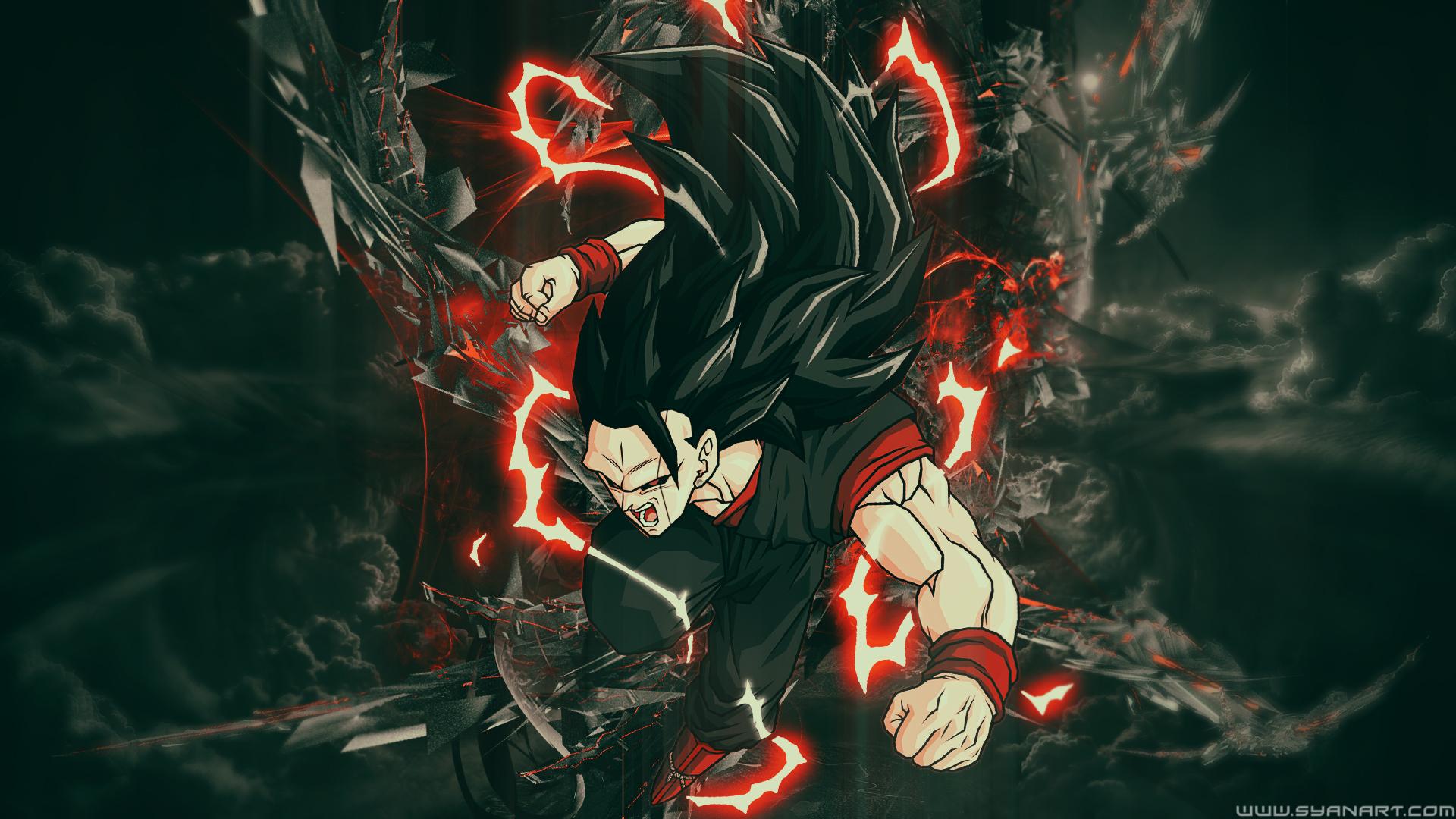 Dragon Ball Super Goku Black Full HD Wallpaper SyanArt