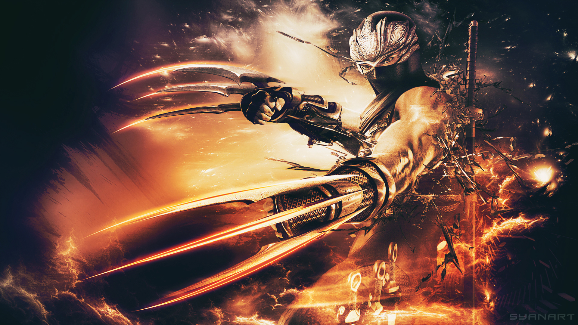 ninja gaiden sigma ii - hd wallpaper - syanart exclusive gaming