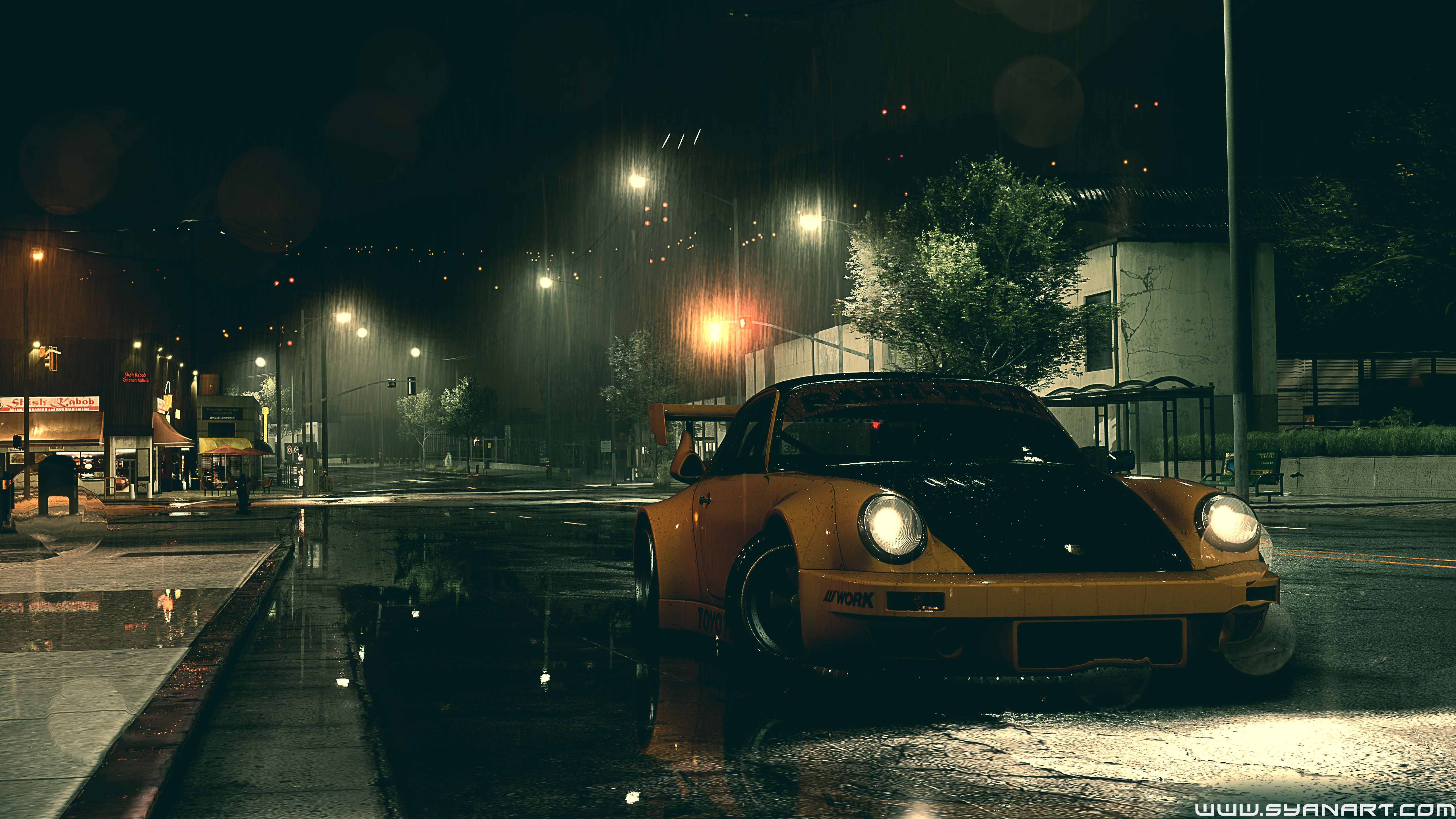 Need For Speed 2016 5k Desktop Gaming Background Syanart Station
