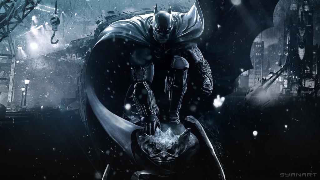 Batman Arkham Origins Batman night wallpaper