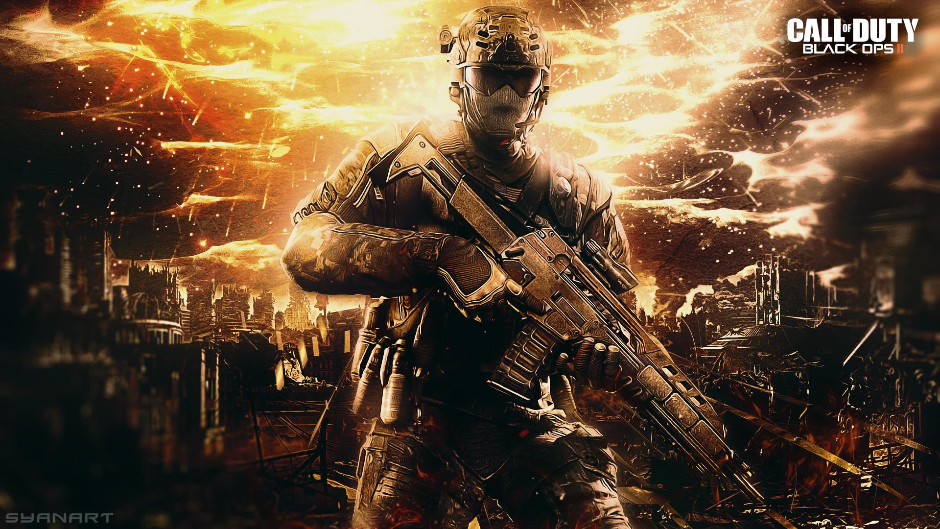 Fondo de pantalla syanart exclusive gaming content call of duty blackops2 warfare wallpaper voltagebd Image collections