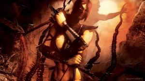 Mortal Kombat 9 Skarlet Wallpaper