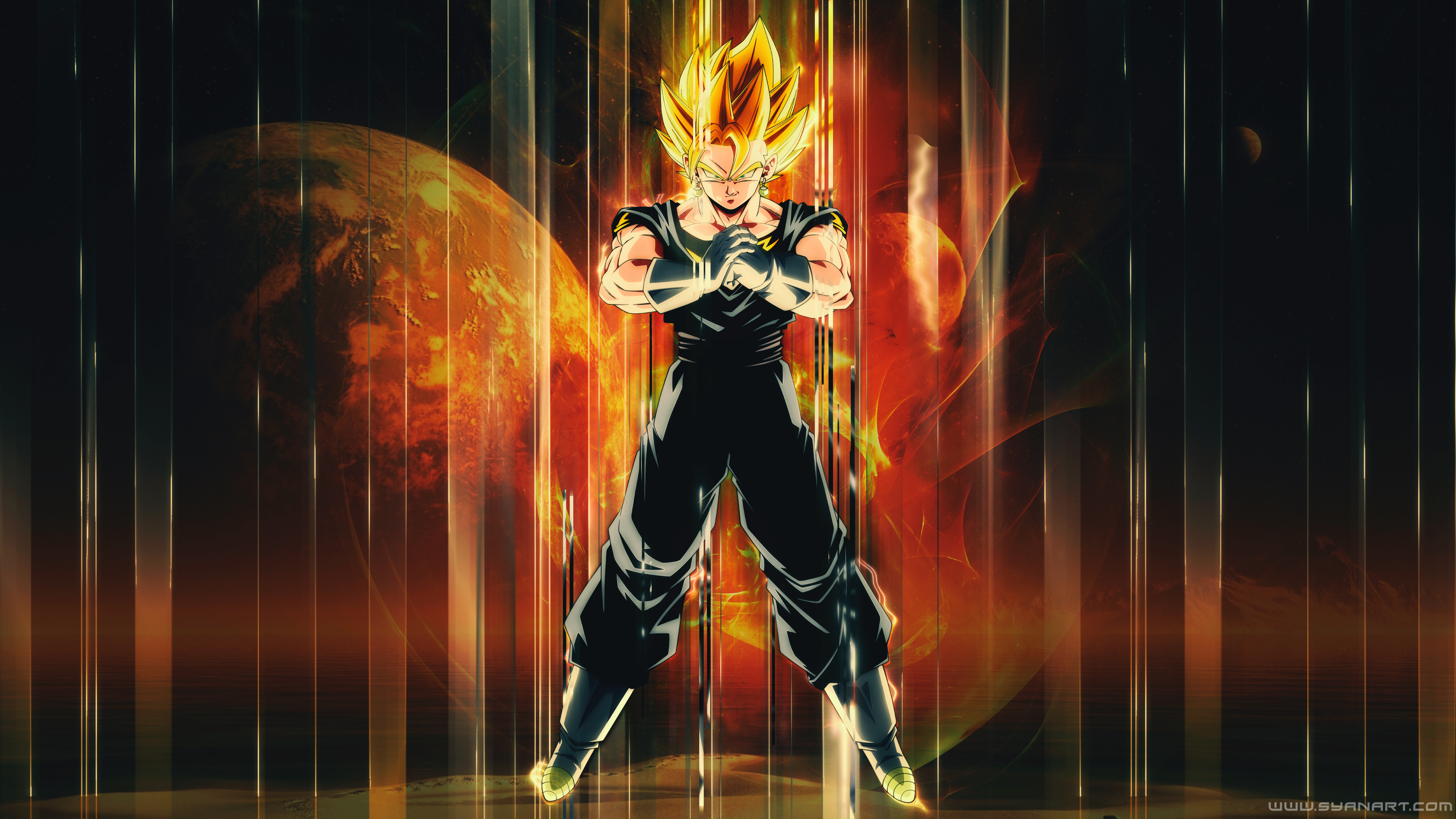 Dragon Ball Super Vegito 4k Wallpaper Syanart Station