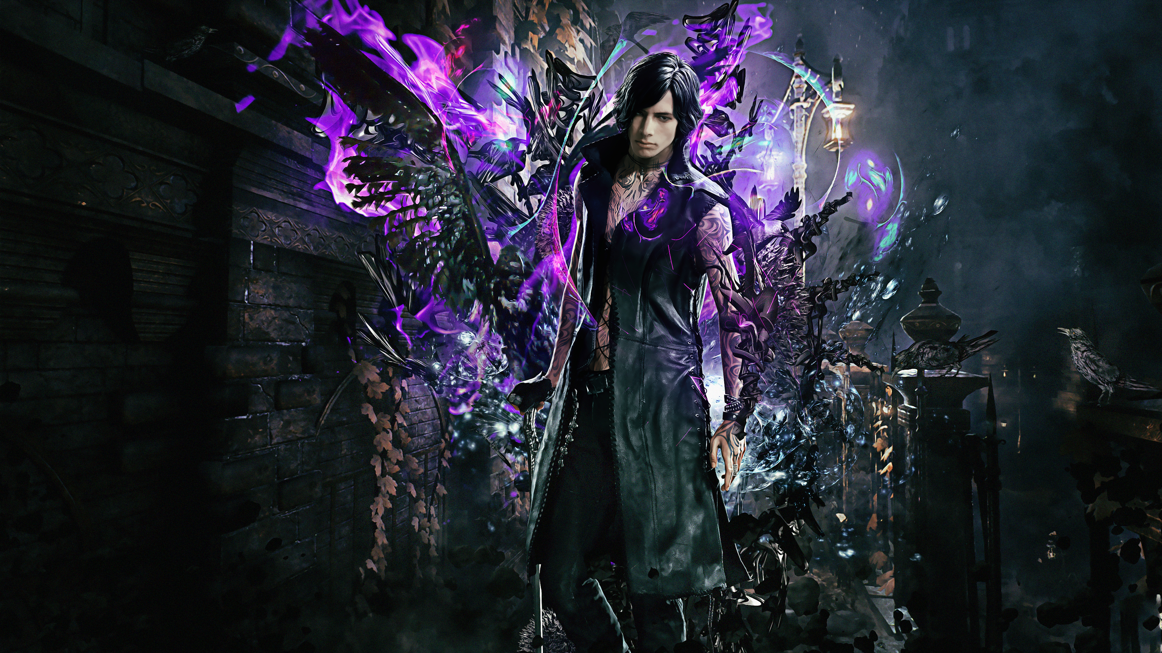 Dmc 5 Vitale 4k Wallpaper Syanart Station