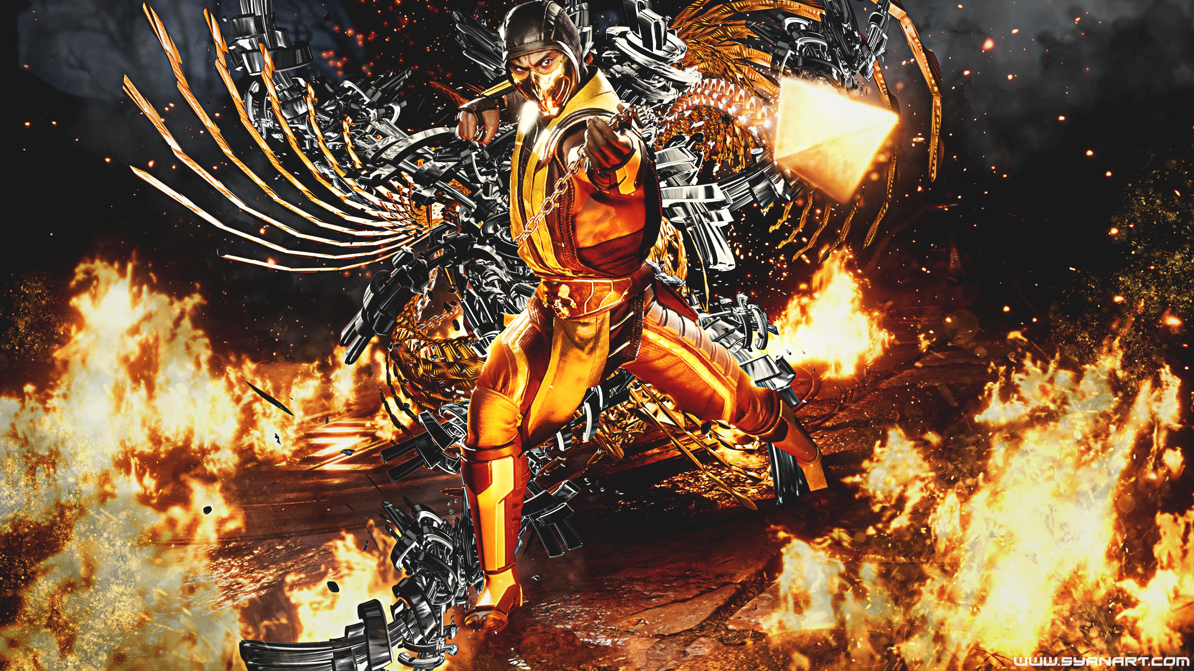 Mortal Kombat 11 Classic Scorpion 4K