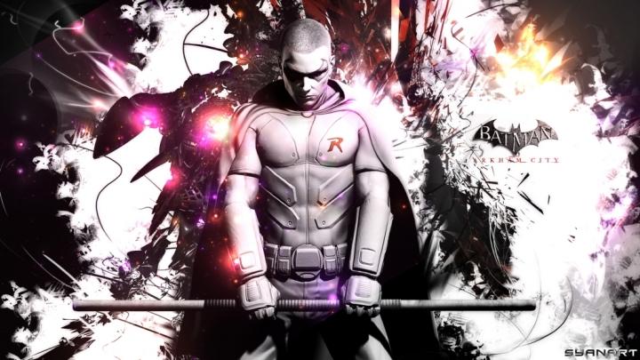 Batman Arkham City Robin Wallpaper