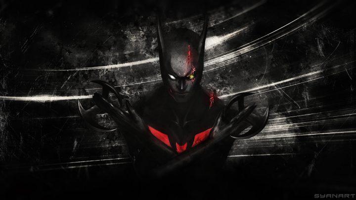 Batman Beyond Future abstract Wallpaper