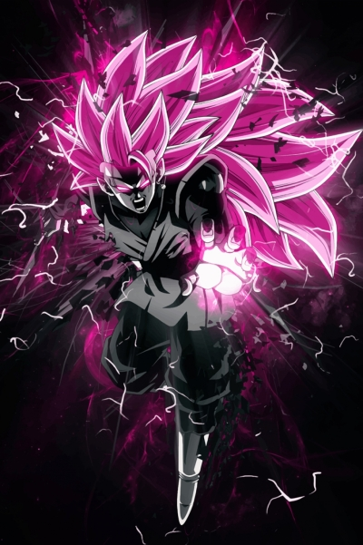 Dragon Ball Super – Goku Black Rose SSJ3