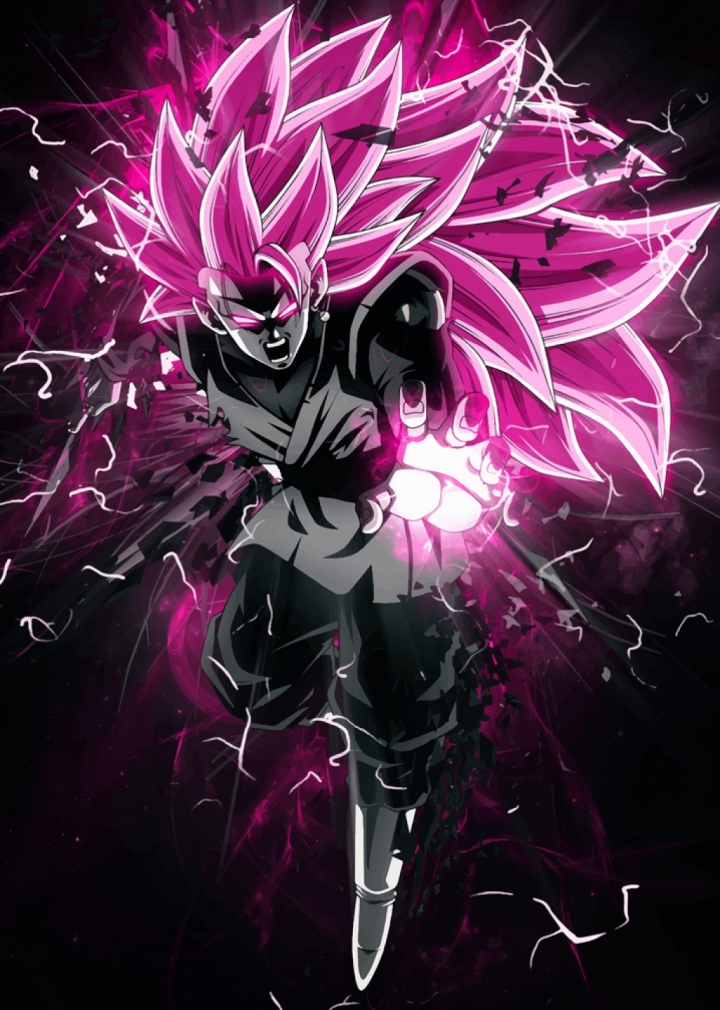 Dragon Ball Super Goku Black Rose Ssj3 Syanart Station