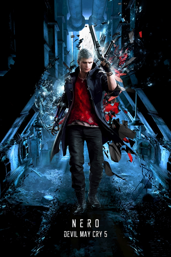 Devil May Cry 5 Nero poster print