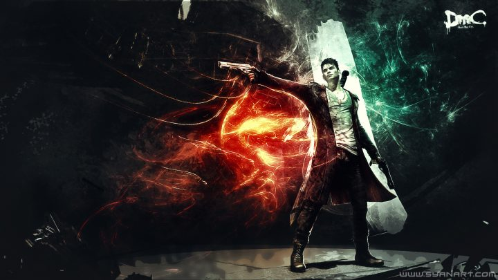 DmC Devil May Cry Knocking on Hell's Door Wallpaper