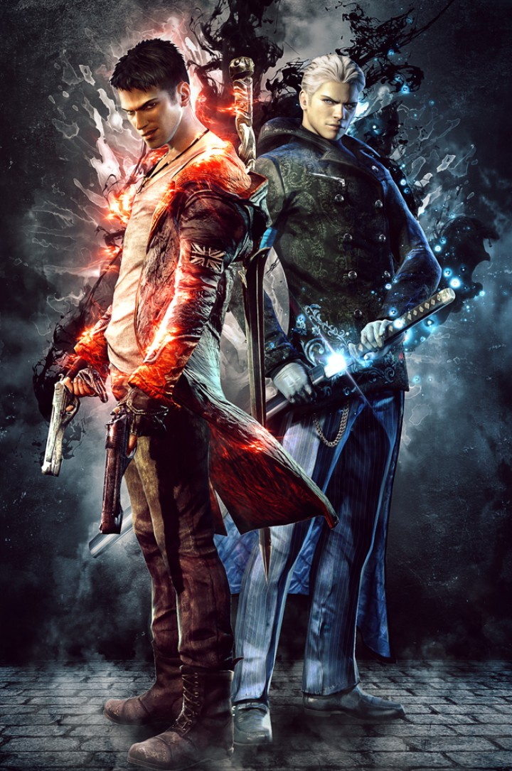 DmC Devil May Cry – Brothers Poster
