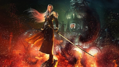 Final Fantasy 7 remake sephiroth 4K wallpaper