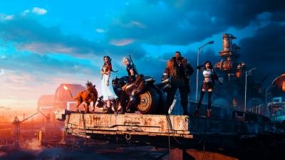 Final Fantasy VII Remake 4K Wallpaper