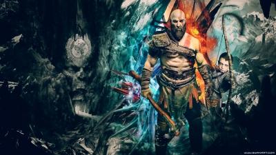 God of War 4 PS4 4K Wallpaper