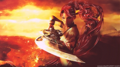 Heavenly Sword – Abstract Wallpaper