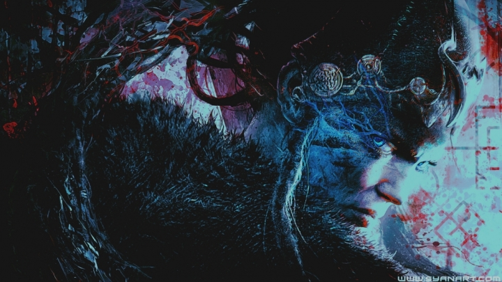 Hellblade Blood Ice cover wallpaper