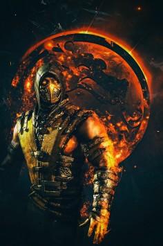 Mortal Kombat X – Scorpion Poster