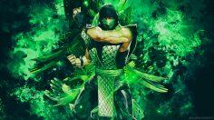 Mortal Kombat – Reptile Classic Ninja Wallpaper