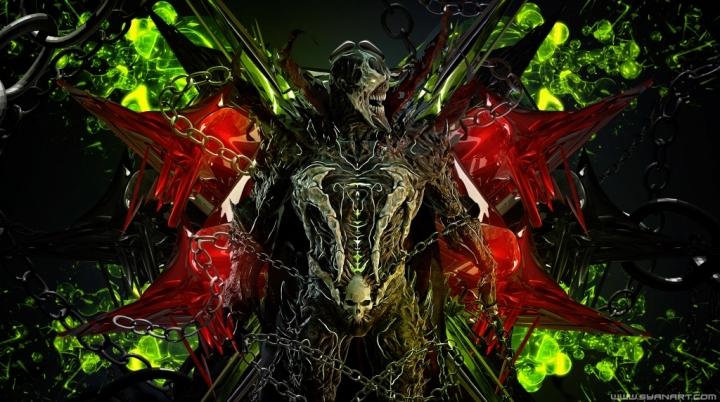 Mortal Kombat 11 Spawn 4k Wallpaper Syanart Station