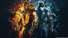 Mortal Kombat XL – Scorpion vs SubZero Wallpaper