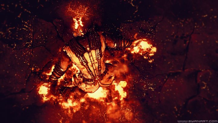 Mortal Kombat X – Scorpion Wins Wallpaper
