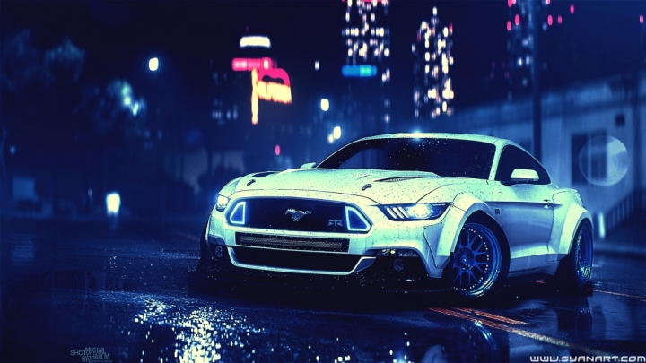 Need for Speed 2016 5K Wallpaper