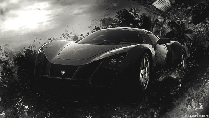 Need for Speed 2012 Abstract Wallpaper